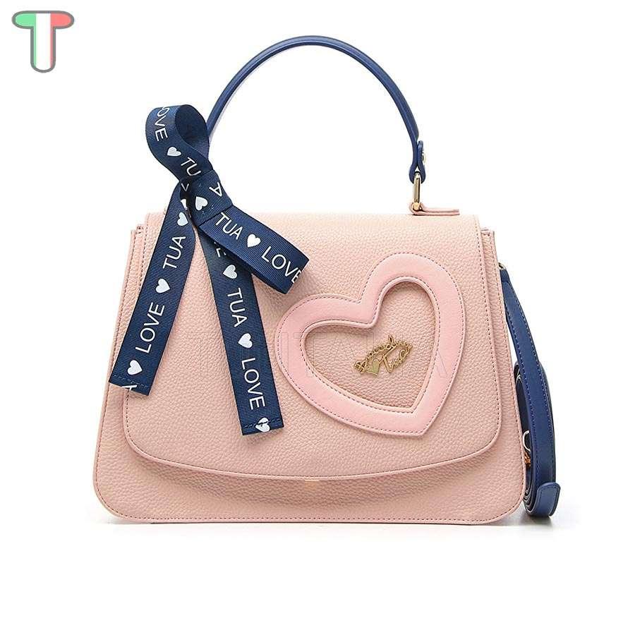 80606965201a Женская сумка Braccialini B12050 Tua Love Rosa купить из Италии, цена со  скидкой в интернет-магазине | TutITALIA