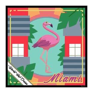 Braccialini Cartoline Miami BFR17T140-XX-818
