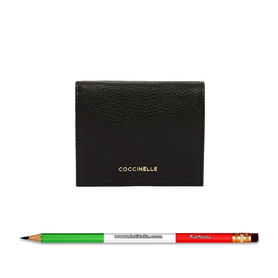 Coccinelle Metallic Soft Noir E2DW5117401001