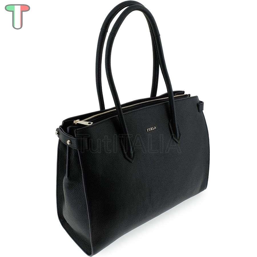 3f0d771dd438 Женская сумка Furla 904124 Pin Onyx купить из Италии, цена со ...