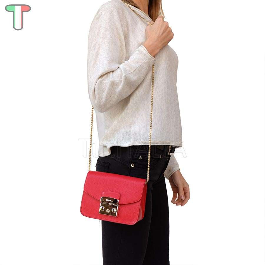 Furla 851170 Metropolis Ruby Mini Bag Tutitalia