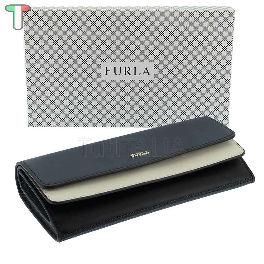 Furla Reale XL Bi-Fold Double Ardesia e 985374