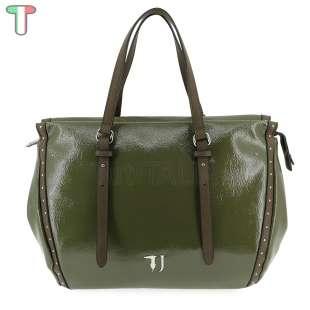 Trussardi Jeans Portulaca Patent Military 75B00537 9Y099999