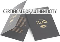 ALVIERO MARTINI CERTIFICATE OF AUTHENTICITY