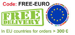 FREE DELIVERY IN EUROPEAN UNION